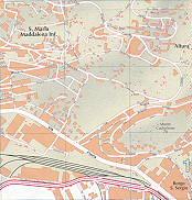 S. Maria Maddalena Inf., Altura, Borgo S. Sergio Trieste City Map Italy