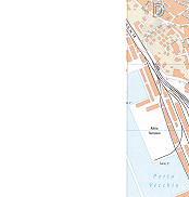 Adria Terminal, Porto Vecchio Trieste City Map Italy