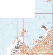 Porto Doganale, Stazione Marittima Trieste City Map Italy