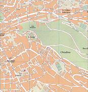 Orto Botanico, S. Luigi, S. Cilino Inferiore, Chiadino, Boschetto Trieste City Map Italy