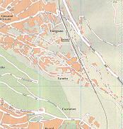 S. Giovanni Inferiore, Boschetto, Timignano, Farento, Cacciatore Trieste City Map Italy