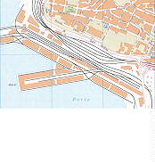 Porto Nuovo Trieste City Map Italy