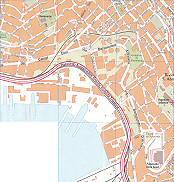 S. Giacomo, Bivio S. Anna, Autostradale Grande Trieste City Map Italy