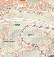 Rozzol, Montebello Inferiore, S. Maria Maddalena Sup., Montebello Superiore, Autostradale Grande Trieste City Map Italy